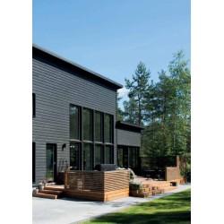 Siparila Topcoat Fassadenprofil 23x170x4500 Grau