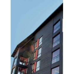Siparila Topcoat Fassadenprofil 23x220x3900 Grau