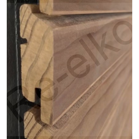Kebony Clear Tiga Rhombusprofil 68x21x4880