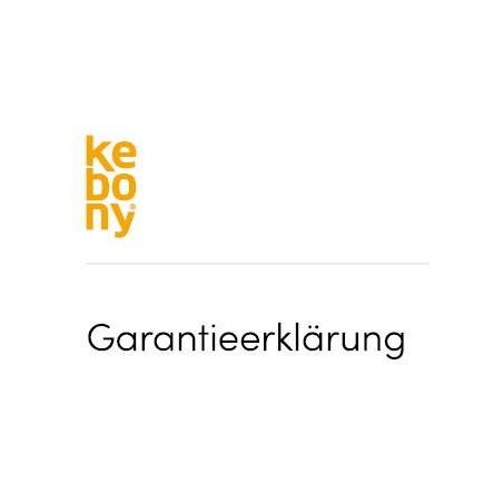 Kebony Garantieschein 2021
