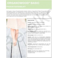 Organowood Produktdatenblatt Basic