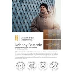Kebony Flyer Fassade