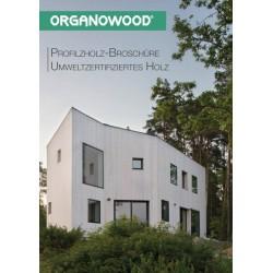 Organowood Profilholzbroschüre und Montageanleitung