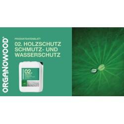 Organowood 02 Schmutz- und Wasserschutz Produktinformationen
