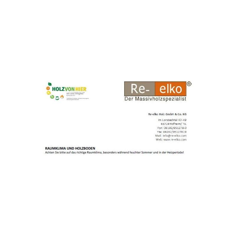 Informationsblatt Raumklima und Holzboden