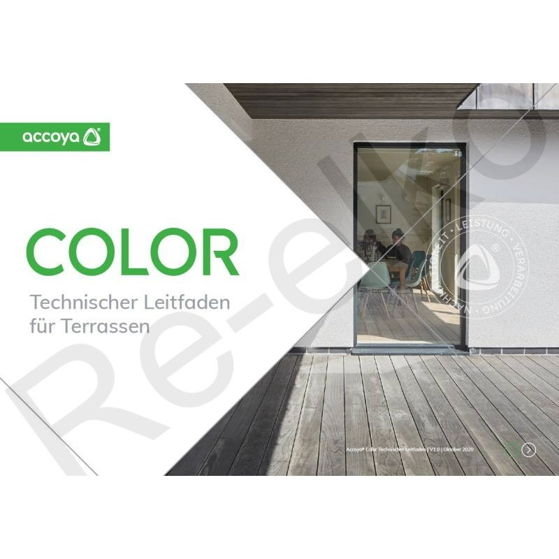Technischer Leitfaden Accoya Color Gray