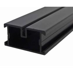 Alu Unterkonstruktion schwarz 38x45x4000