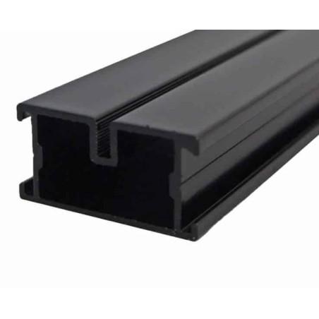 Ecofix Aluminium Unterkonstruktion schwarz 38x45x4000