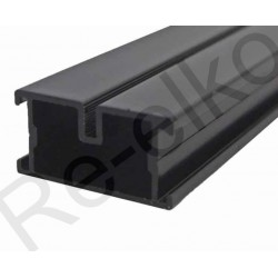 Alu Unterkonstruktion schwarz 23x45x4000