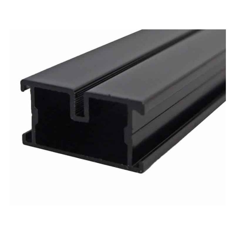 Ecofix Aluminium Unterkonstruktion schwarz 23x45x4000