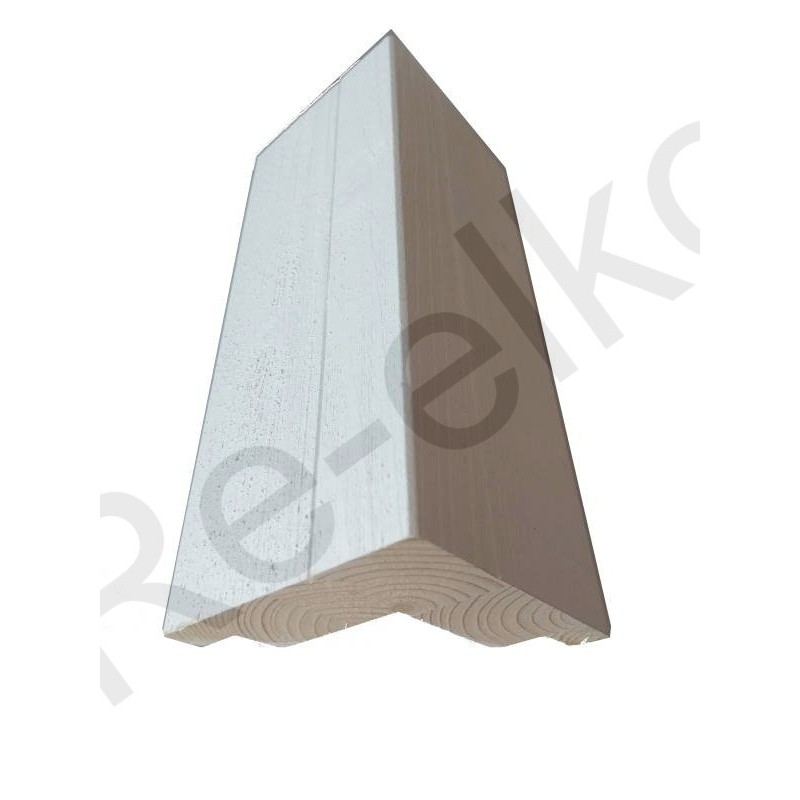 Siparila Topcoat Außenecke 93x93x3660 weiß grundiert