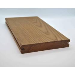Holzmuster Thermoesche Terrassendiele 21x130 Seitennut