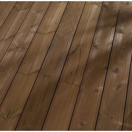 Thermokiefer Terrassendiele Fuxprofil 26x137x4500