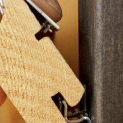 Tiga Fassadenstartverbinder Alu Zink