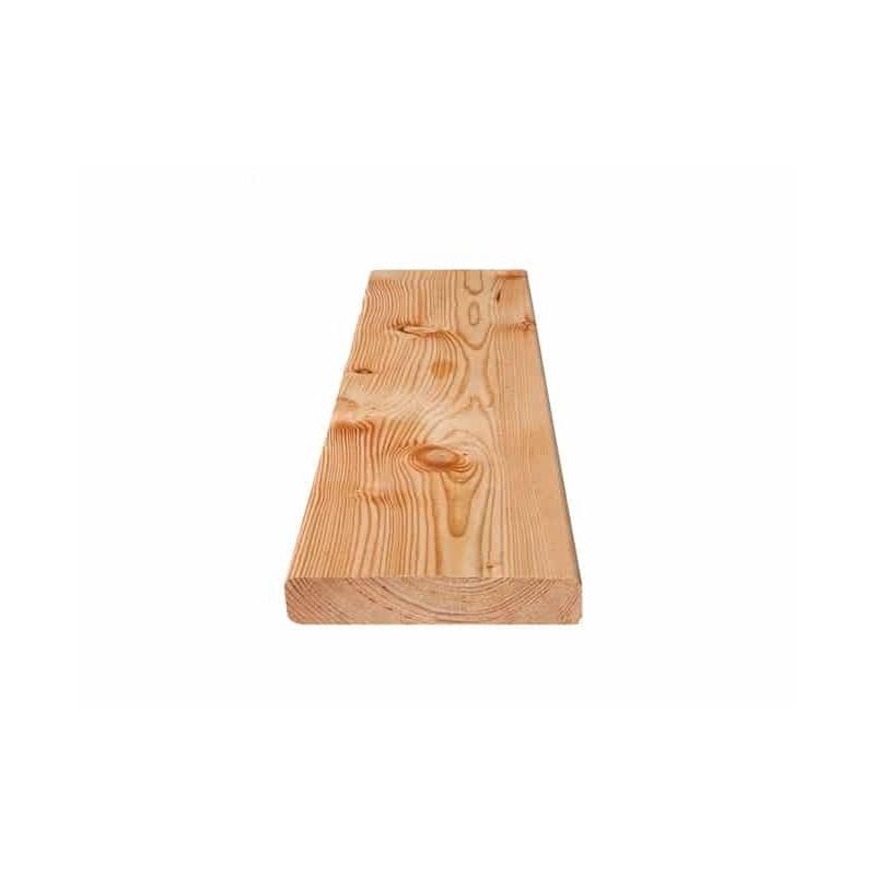 Hochgebirgslärche Terrassendiele 25x140x4000 glatt