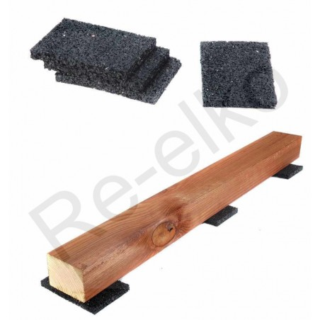 Gummigranulat Pad Unterlage 60x90x3