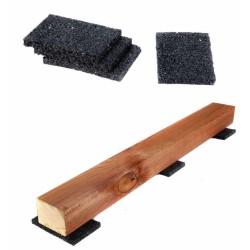 Gummigranulat Pad Unterlage 60x90x20