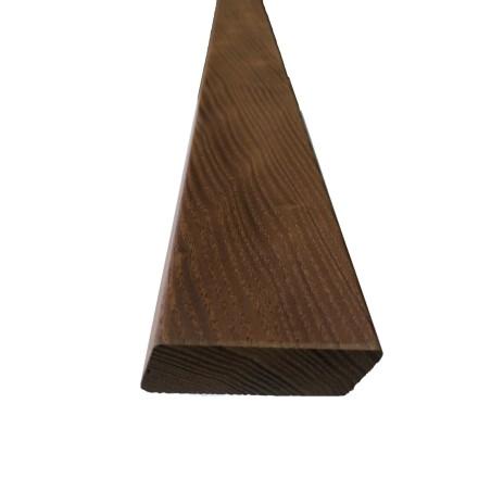 Thermoesche Rhombusprofil 25x68x1800 glatt