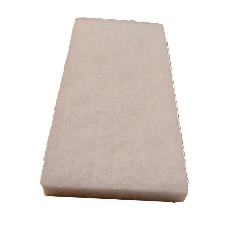 Handpad Poliervlies Super Weiß