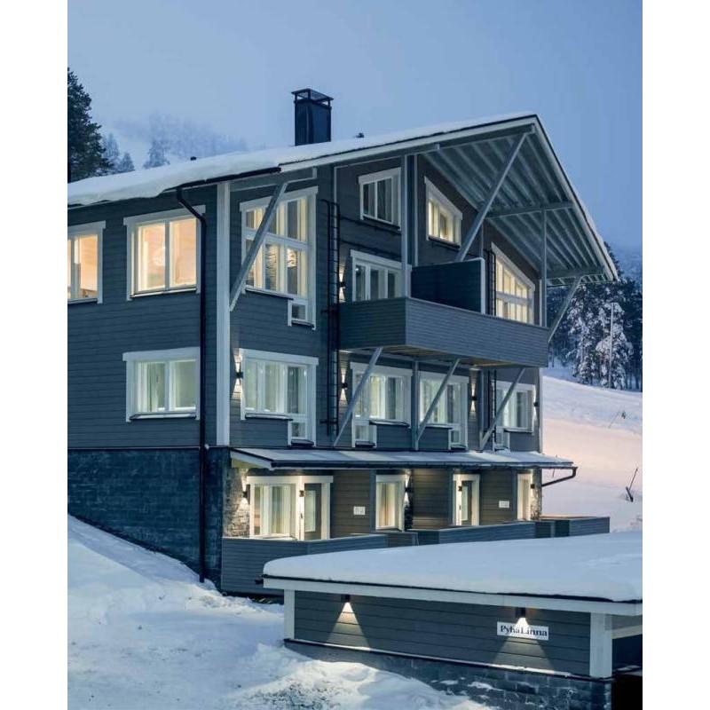 Siparila Topcoat Fassadenprofil 23x120x4500 Grau