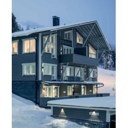 Siparila Topcoat Fassadenprofil 23x120x4800 Grau