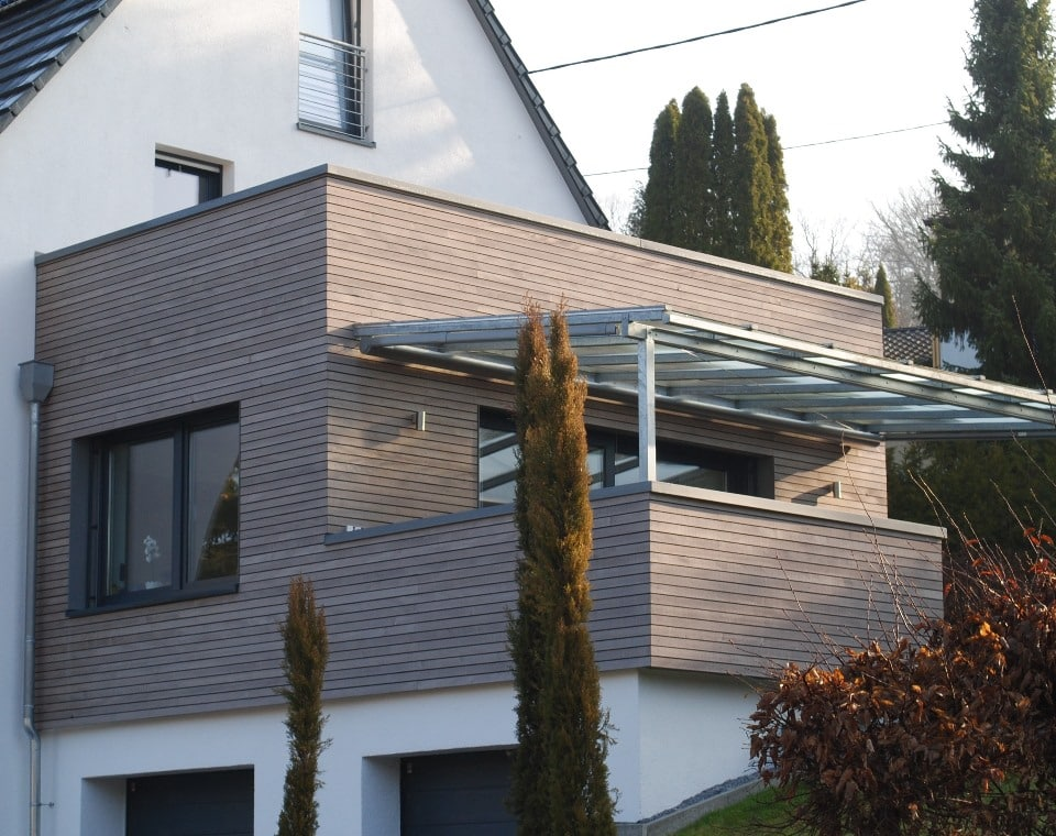 Dura Patina Fassade
