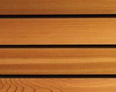 Red Cedar Fassadenholz